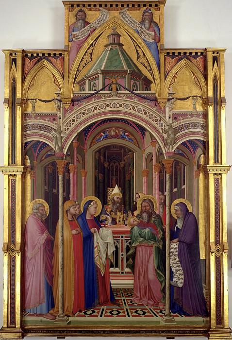 Ambrogio Lorenzetti - Presentation of Jesus in the Temple. Uffizi