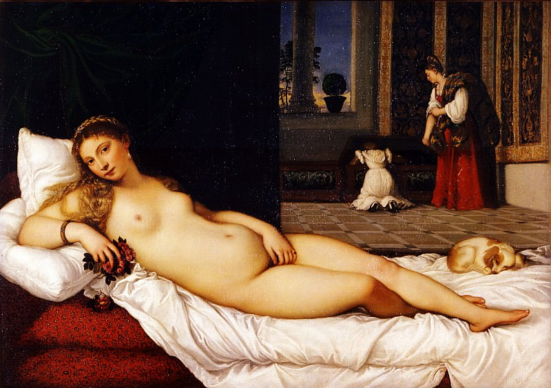 Tiziano - Venus of Urbino. Uffizi