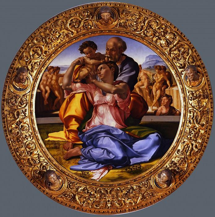 Michelangelo Buonarroti - Tondo Doni. Uffizi