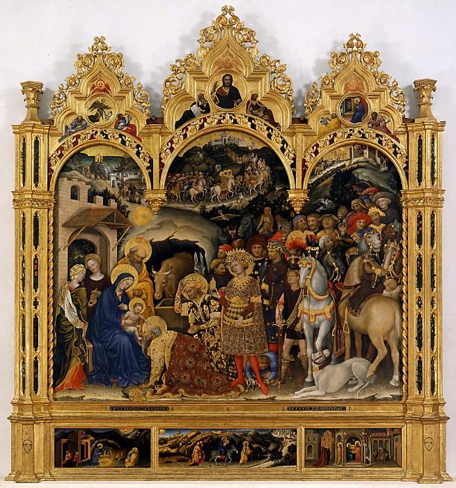 Джентиле да Фабриано - Поклонение волхвов. Уффици