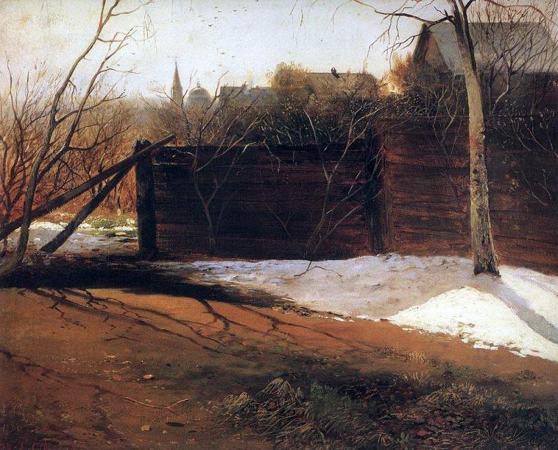Spring. 1874. Alexey Kondratievich Savrasov