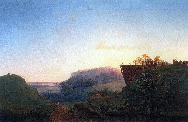 Ukrainian landscape. 1849. Alexey Kondratievich Savrasov
