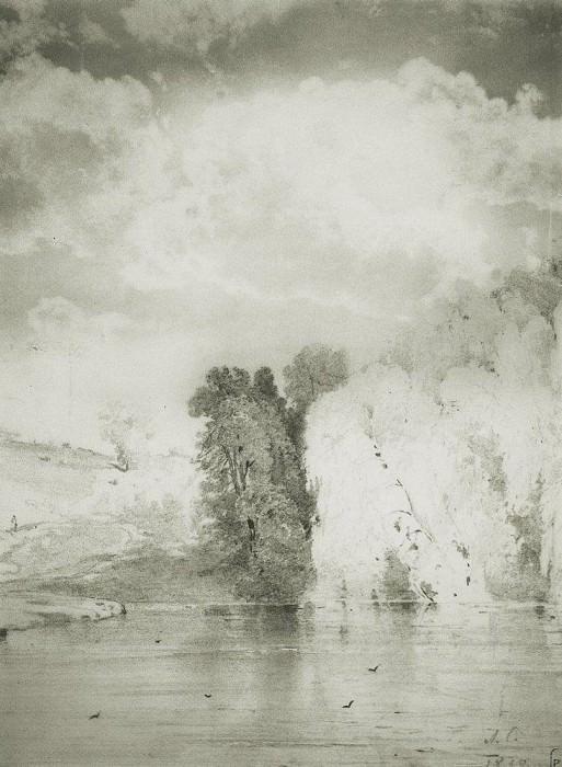 Trees near the lake. 1868. Alexey Kondratievich Savrasov