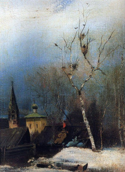 Ранняя весна. 1880-1890-е. Алексей Кондратьевич Саврасов