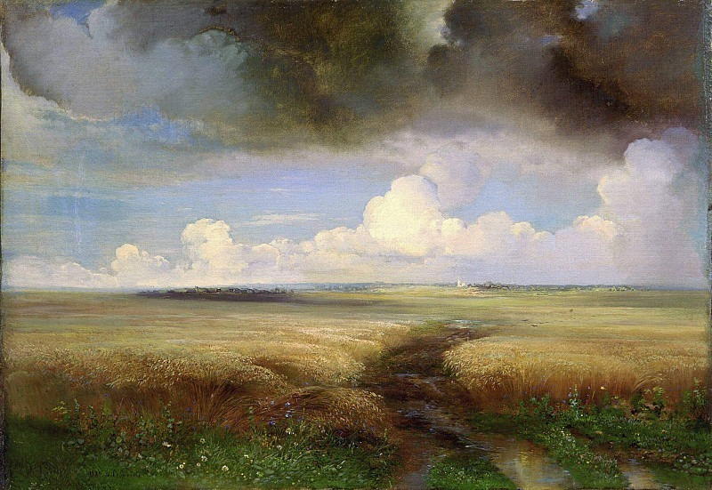 Rye. Alexey Kondratievich Savrasov