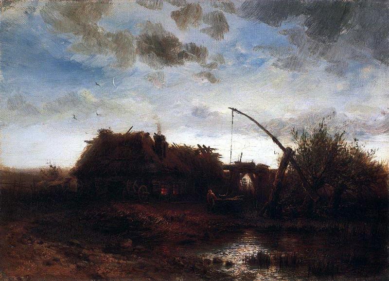 V well. Around 1868. Alexey Kondratievich Savrasov