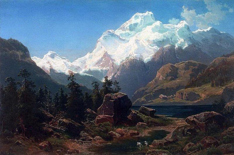 Swiss type. 1862. Alexey Kondratievich Savrasov