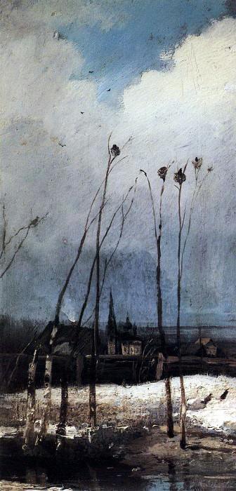Rooks Have Arrived. 1880. Alexey Kondratievich Savrasov
