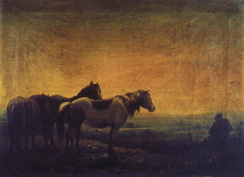Night. 1871. Alexey Kondratievich Savrasov