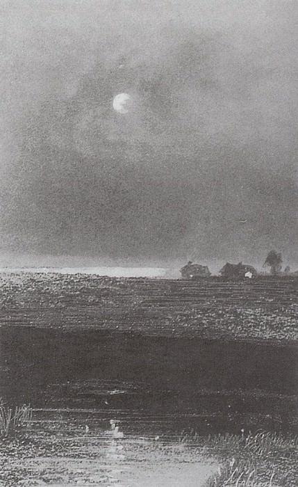 Night. 1894. Alexey Kondratievich Savrasov