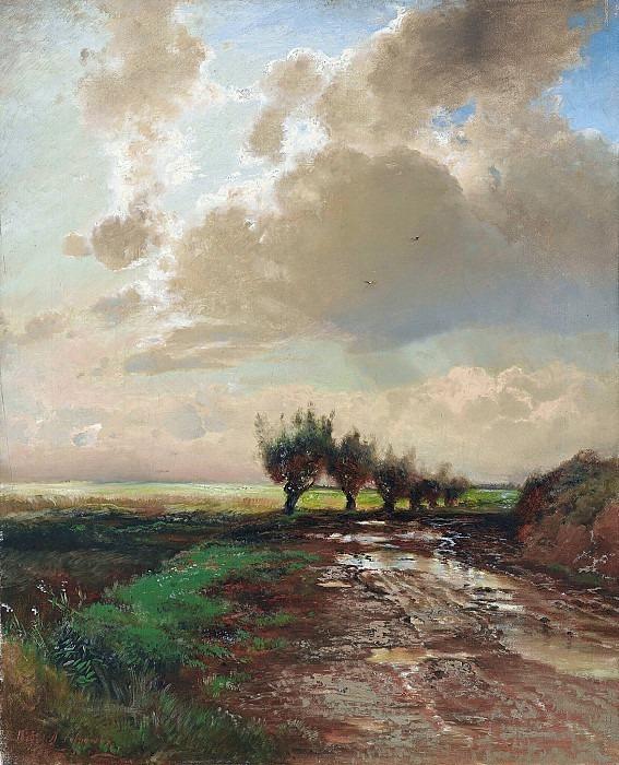Dirt road. Alexey Kondratievich Savrasov
