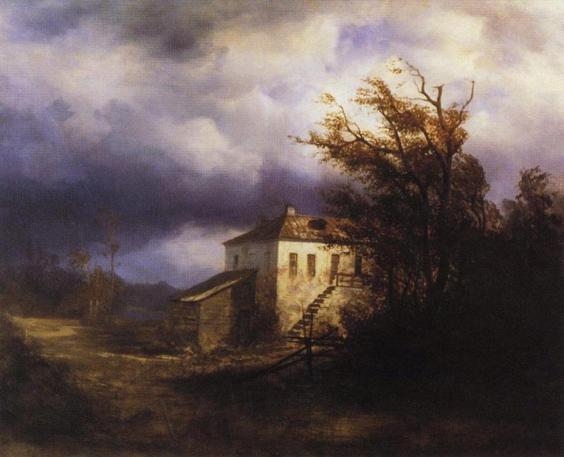 Before the storm. 1850. Alexey Kondratievich Savrasov