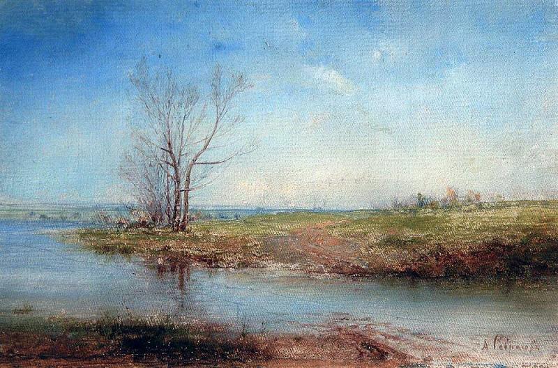 Spring. 1870. Alexey Kondratievich Savrasov