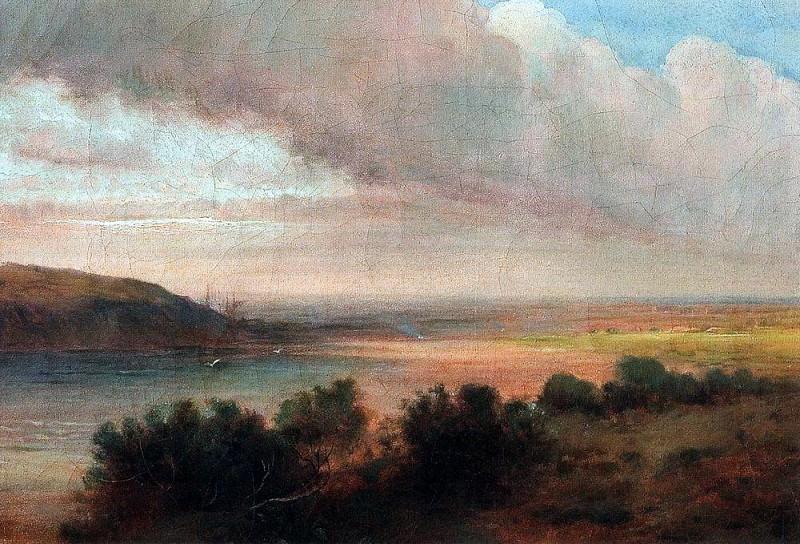На Волге. Первая половина 1870-х. Алексей Кондратьевич Саврасов