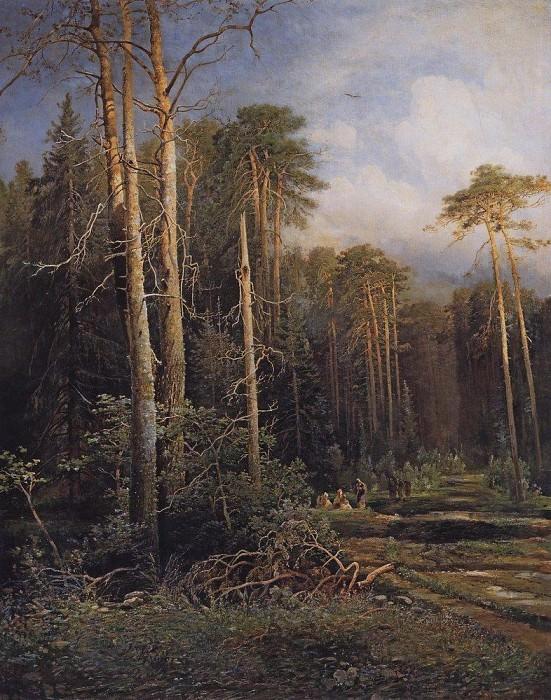 Дорога в лесу. 1871. Алексей Кондратьевич Саврасов