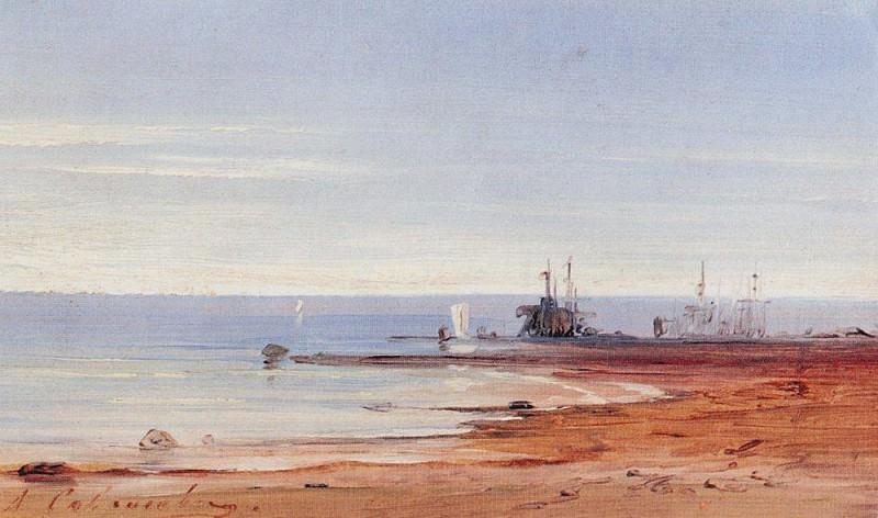 Sea. 1860. Alexey Kondratievich Savrasov