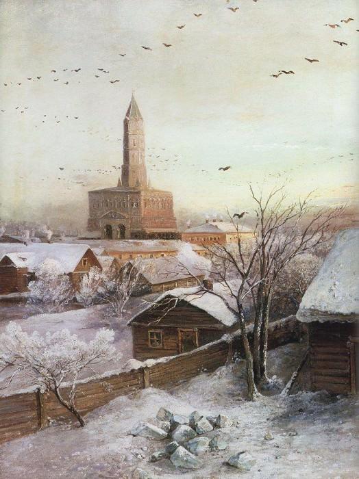 Sukharev Tower. 1872. Alexey Kondratievich Savrasov