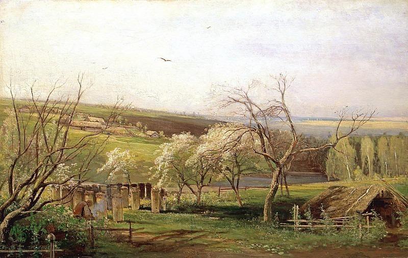 Rural view. Alexey Kondratievich Savrasov