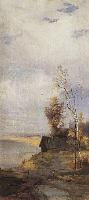 Пейзаж с домиком. Алексей Кондратьевич Саврасов