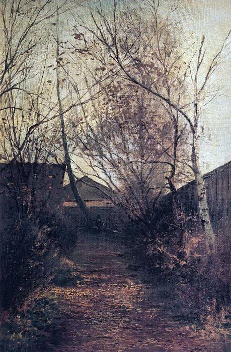 Alley. 1870. Alexey Kondratievich Savrasov