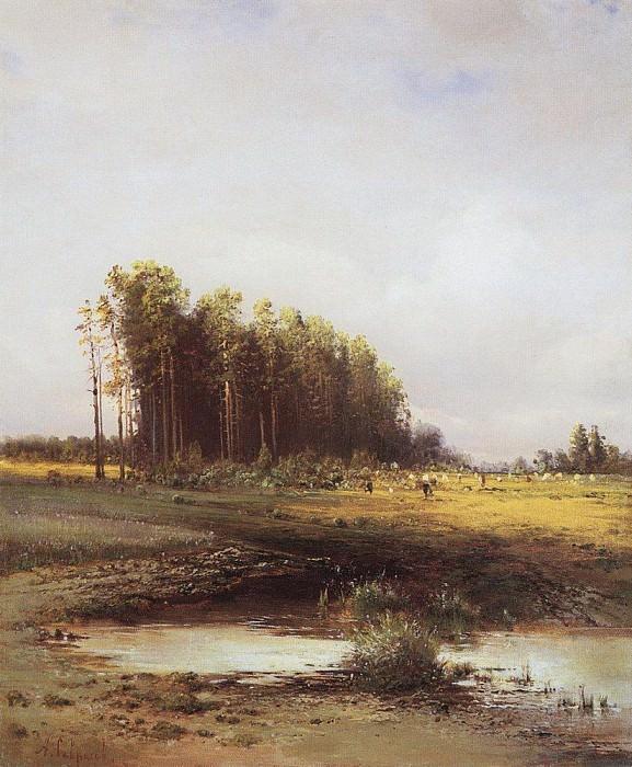 Elk Island. Alexey Kondratievich Savrasov