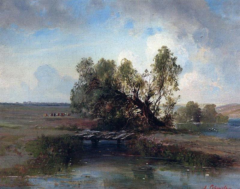 After the storm. 1870. Alexey Kondratievich Savrasov