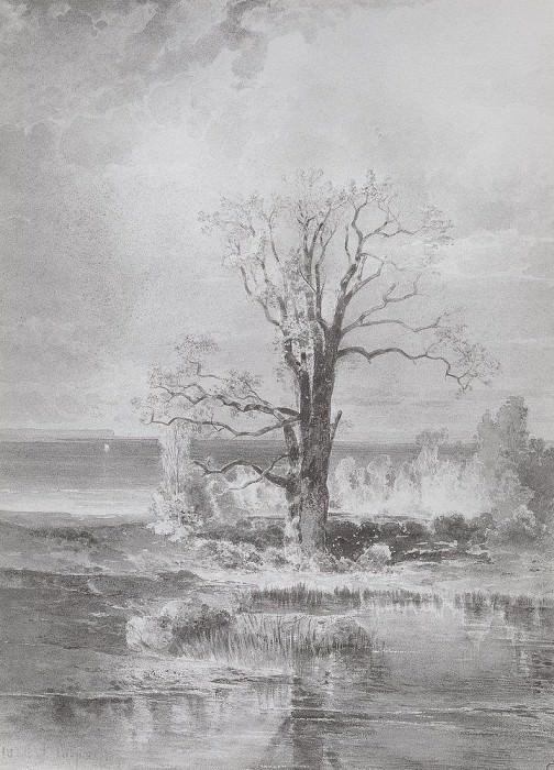 Осенний пейзаж. 1877. Алексей Кондратьевич Саврасов