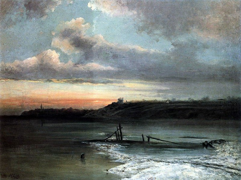 Thaw. 1874. Alexey Kondratievich Savrasov