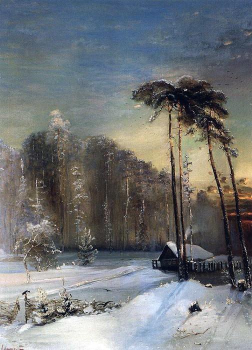 Forest of frost. 1890. Alexey Kondratievich Savrasov
