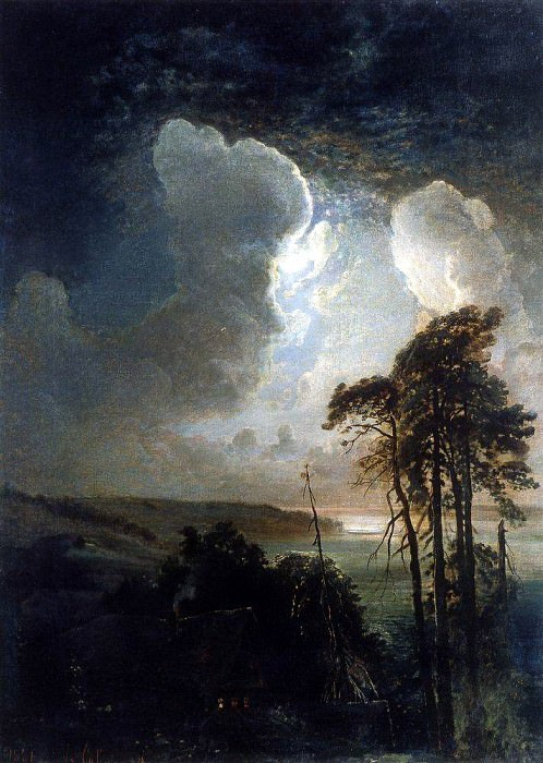 Night on the Sparrow Hills. 1881. Alexey Kondratievich Savrasov