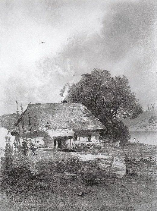 Ukrainian landscapes. 1860. Alexey Kondratievich Savrasov