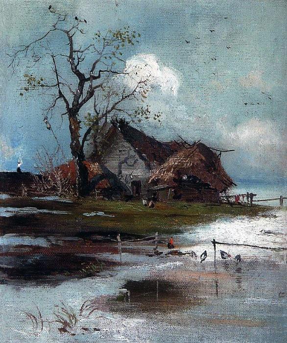 Весна. 1880-1890-е. Алексей Кондратьевич Саврасов