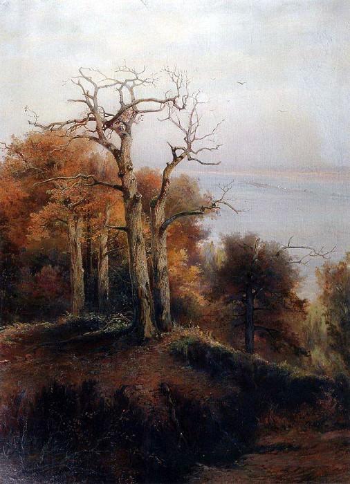 Autumn forest. Kuntsevo. Cursed place. 1872. Alexey Kondratievich Savrasov