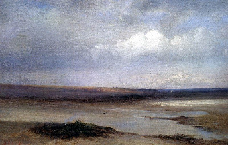 Volga. Dali. 1870. Alexey Kondratievich Savrasov