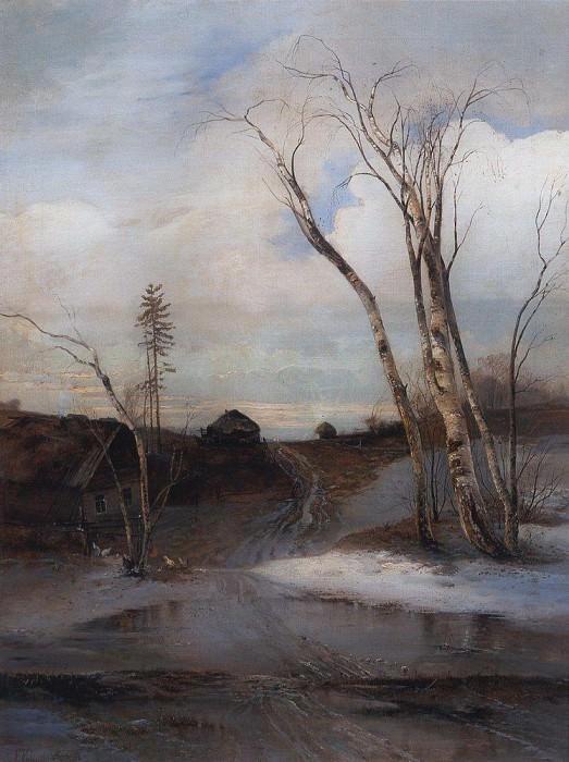 Spring. Late 1870 - early 1880. Alexey Kondratievich Savrasov
