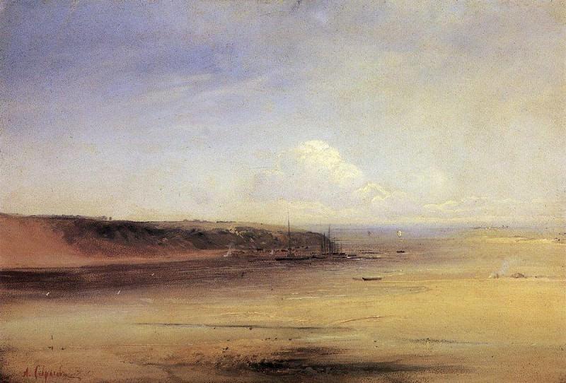 Волга. 1870-е. Алексей Кондратьевич Саврасов