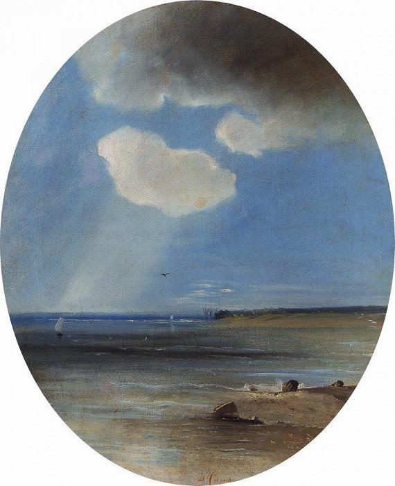 Морской пейзаж. 1880-1890-е. Алексей Кондратьевич Саврасов