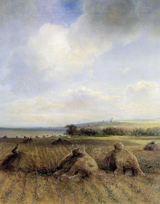К концу лета на Волге. 1873. Алексей Кондратьевич Саврасов