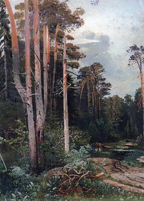 Forest road in Sokolniki. 1860. Alexey Kondratievich Savrasov