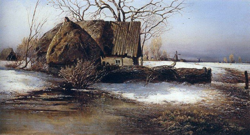 Spring is coming. 1874. Alexey Kondratievich Savrasov