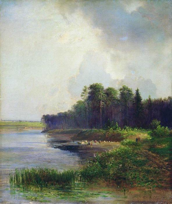 Берег реки. 1879. Алексей Кондратьевич Саврасов