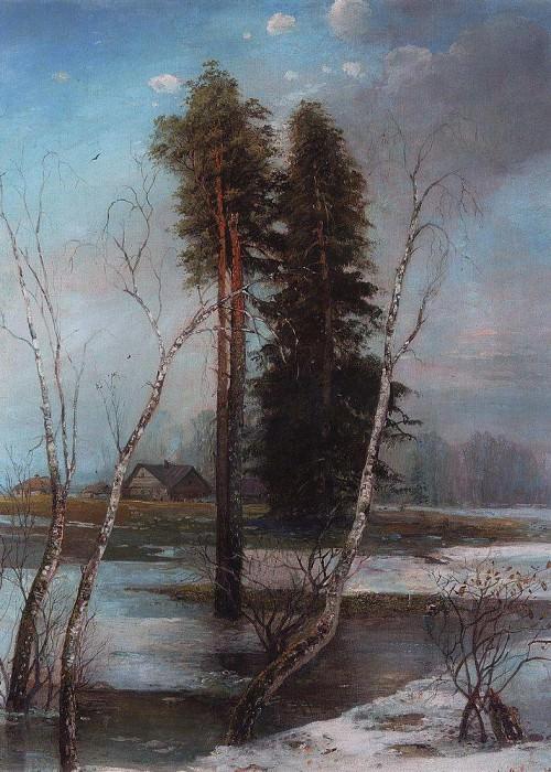 Early spring. 1888. Alexey Kondratievich Savrasov