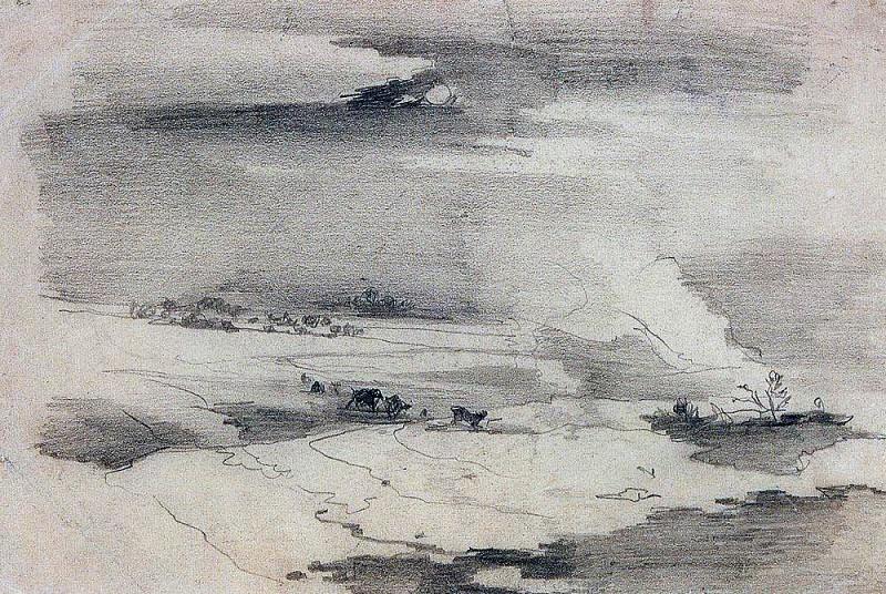 Весенний пейзаж. 1880-1890-е. Алексей Кондратьевич Саврасов