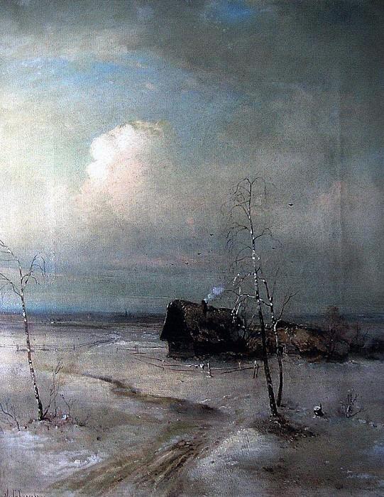 Early spring. 1890. Alexey Kondratievich Savrasov