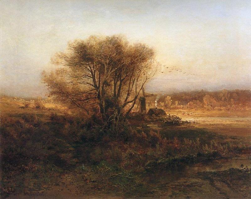 Autumn. 1871. Alexey Kondratievich Savrasov