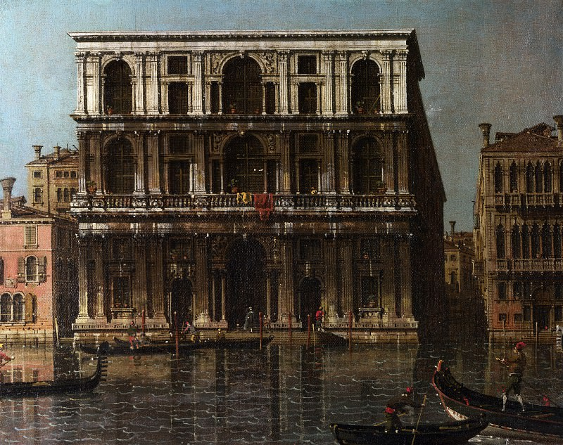 Canaletto - Venice - Palazzo Grimani. Part 1 National Gallery UK