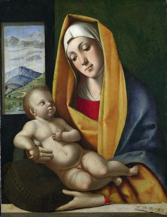 Альвизе Виварини - Мадонна с Младенцем. Часть 1 Национальная галерея