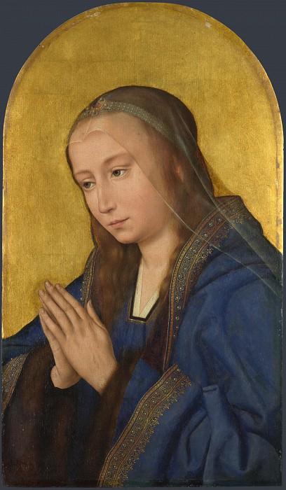 After Quinten Massys - The Virgin. Part 1 National Gallery UK