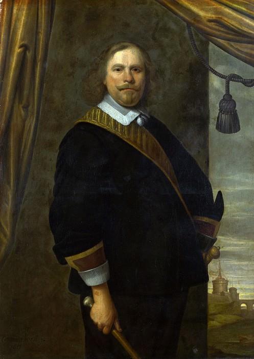 Цезарь ван Эвердинген (приписывается) - Портрет голландского военачальника. Часть 1 Национальная галерея