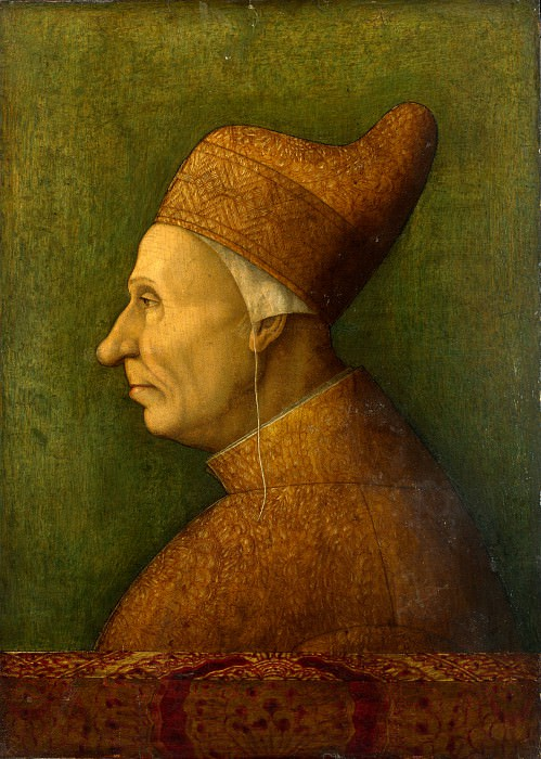 After Gentile Bellini - Doge Niccolo Marcello. Part 1 National Gallery UK